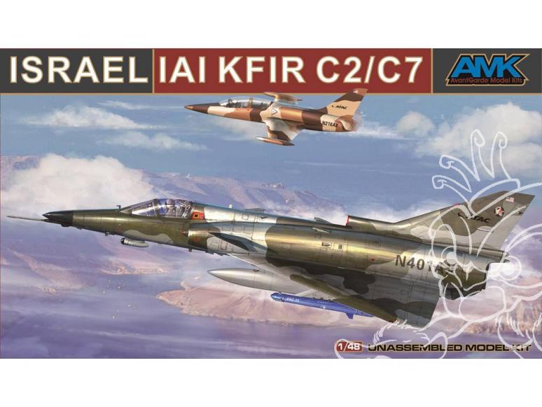 AMK maquette avion 88001-A IAI KFIR C2 / C7 1/48