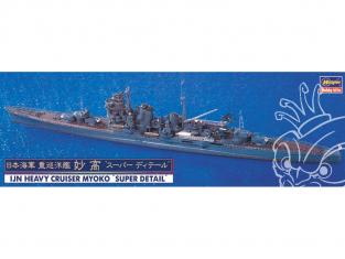 "Hasegawa maquette bateau 30017 Navy Heavy Cruiser Myoko ""Super Detail"" 1/700"