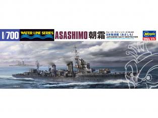 Hasegawa maquette bateau 465 Destroyer japonais Asashimo 1/700