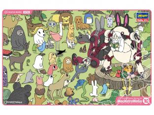 "HASEGAWA maquette 64763 Mechatronic Wiego No. 10 Réunion ""Totoro & Azuki"" 1/35"