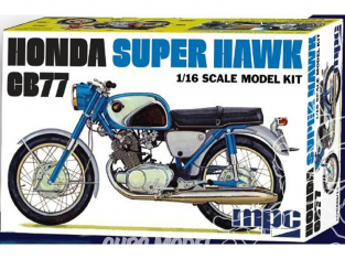 MPC maquette voiture 898 Honda Super Hawk 1/16