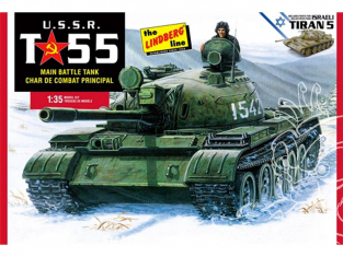 MPC maquette bateau hl415 Char de combat T-55 URSS 1/35
