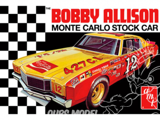AMT maquette voiture 1064 Bobby Allison 1972 Chevy Monte Carlo Stock Car 1/25