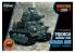 Meng maquette militaire WWT-009 Somua S35 char français Cartoon