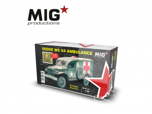 MIG Productions by AK MP48-197 Dodge WC 54 Ambulance 1/48