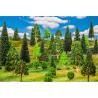 Faller végétation 181535 25 Arbres forêt mixte, assortis
