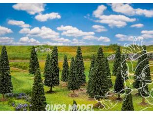 Faller végétation 181541 25 Sapins, petits, assortis