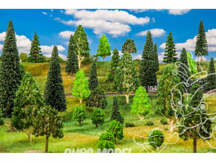 Faller végétation 181536 50 Arbres forêt mixte, assortis