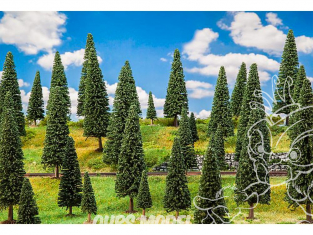 Faller végétation 181538 25 Sapins, assortis