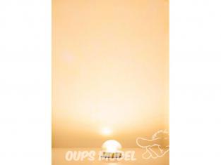Faller accessoire maquette 180667 Culot d'éclairage à LED, blanc chaud