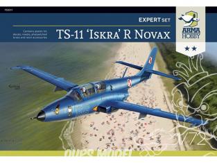 "Arma Hobby maquette avion 70011 TS-11 ""ISKRA"" R Novax Expert Set 1/72"
