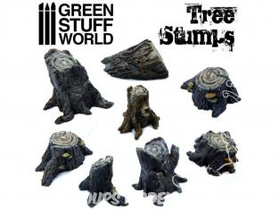 Green Stuff  500387 Souches d'Arbres