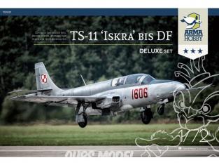 """Arma Hobby maquette avion 70001 TS-11 """"ISKRA"""" BIS DF Deluxe Set 1/72"""