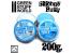 Green Stuff 367832 Mastic de Silicone Bleu 200gr