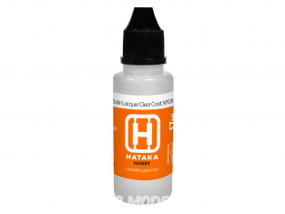 Hataka Hobby peinture maquette Orange Line XP08-17 Vernis satiné laque 17ml