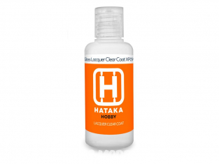 Hataka Hobby peinture maquette Orange Line XP09-60 Vernis brillant laque 60ml