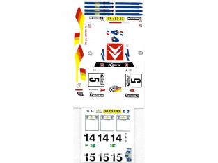 C.B.COM decal 24.139 Xsara WRC Acropole 2001 1/24