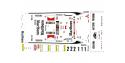 C.B.COM decal 24.83 Mitsubishi Evo.6 GrA Makinen Mannisenmaki Loix et Smeets tour de corse 1999 1/24