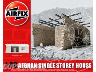 Airfix maquette militaire 75010 Maison Afghane en ruine 1/48