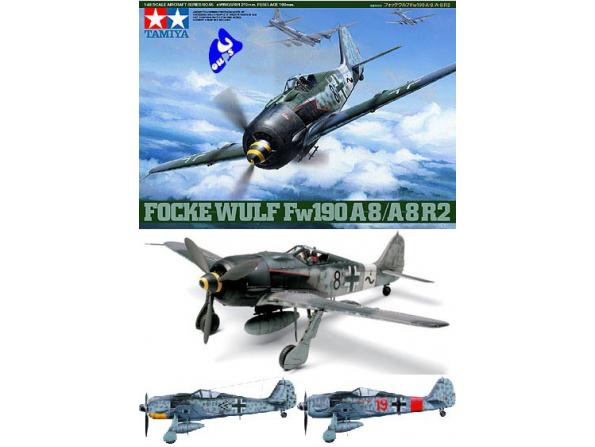 tamiya maquette avion 61095 focke wulf 1/48