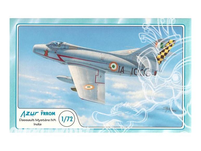 Frrom maquettes avions 022 DASSAULT MYSTERE IVA ARMEE DE L AIR INDIENNE 1965 1/72