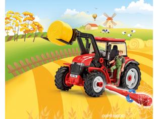 REVELL MAQUETTE ENFANT 00815 Tracteur avec chargeur et figurine