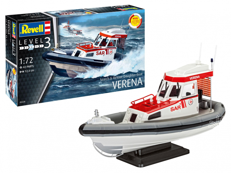 revell maquette bateau 05228 Search et Rescue Daughter-Boat VERENA 1/72