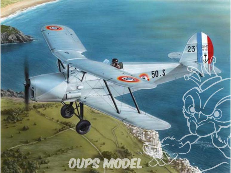 Frrom maquettes avions 0025 Stampe S.V.4c France 1/72