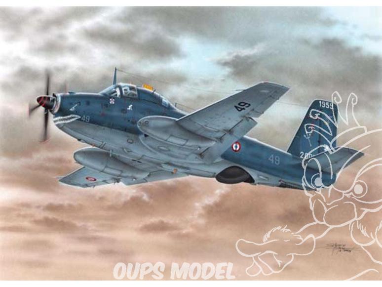 Frrom maquettes avions 0030 Breguet 1050 Alizé ALH 1/72