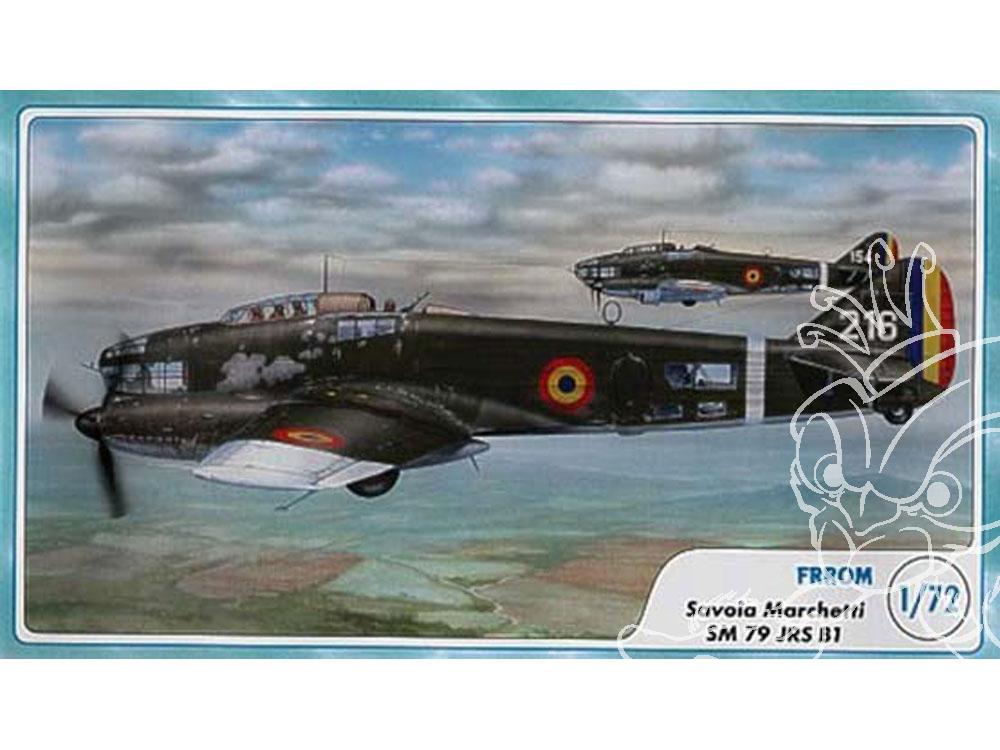 frrom maquettes avions 0005 savoia sm 79 jrs b1 1  72