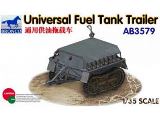 Bronco maquette militaire AB3579 REMORQUE DE FUEL UNIVERSAL 1/35