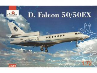 Amodel maquettes avion 72293 DASSAULT FALCON 50 /50EX 1/72