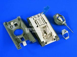 Verlinden kit d'amélioration 2249 INTERIEUR T34/76 1/48