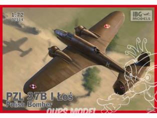 IBG maquette avion 72514 PZL 37B ŁOŚ 1/72