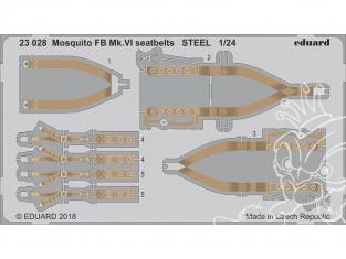 Eduard photodecoupe avion 23028 Harnais métal Mosquito FB Mk.VI Airfix 1/24