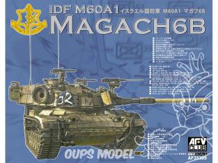 Afv club vehicule militaire 35309 IDF M60A1 MAGACH 6 BAT 1/35