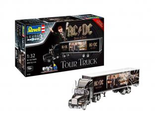 "Revell maquette camion 07453 camion et remorque ""AC/DC"" Limited Edition  1/32"