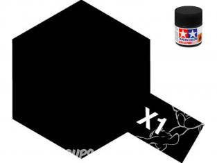 peinture maquette tamiya x01 noir brillant