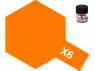 peinture maquette tamiya x06 orange brillant 10ml