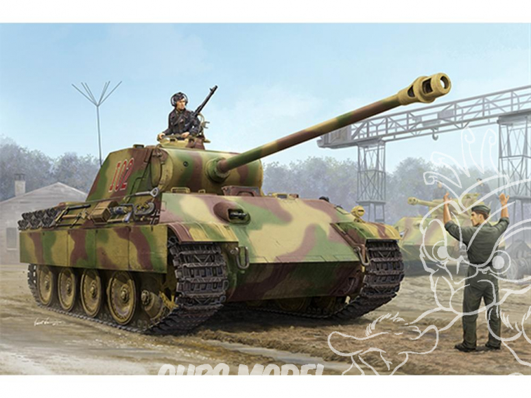 TRUMPETER maquette militaire 00928 German Sd.Kfz.171 Panther Ausf.G - Early Version 1/16