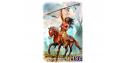 "Master Box personnages 24048 LA CHASSE AU BISON ""RUNNING BEAR"" SERIE INDIENS DES PLAINES 1/24"