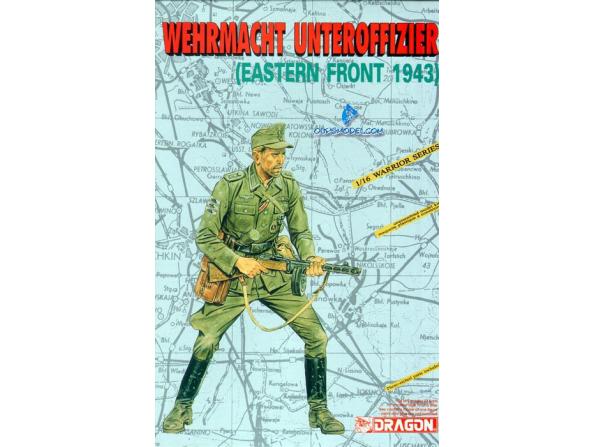 DRAGON maquette militaire 1601 Sous Officier Wehrmacht 1/16