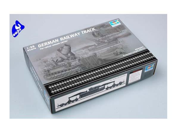 Trumpeter maquette militaire 00213 set de rails 1/35