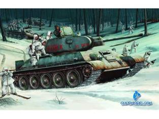 TRUMPETER maquette militaire 00905 T-34/76 MODELE 1942 1/16