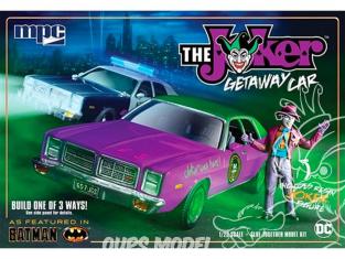 MPC maquette voiture 890 The Joker Getaway car 1/25