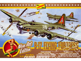 Lindberg maquette avion HL431 B-17G Nose Art Edition 1/64