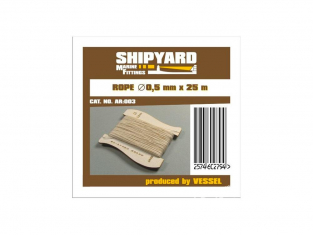 Shipyard AR:003 Ralingue 0,5mm 25metres