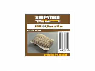 Shipyard AR:007 Ralingue 1,5mm 10metres