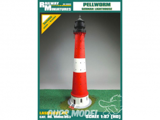 Railway Miniatures RMHO:053 Phare de Pellworm Allemagne HO 1/87