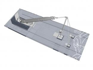 Cmk kit d'amelioration N72019 Torpille de PROUE U-Boot IX avec chargement du treuil et du chariot kit revell 1/72